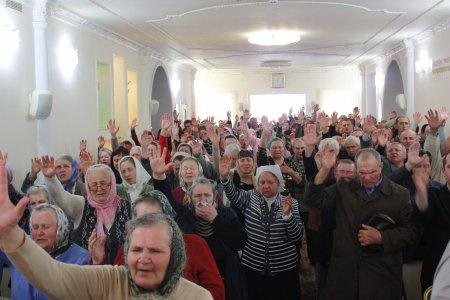 """Евангелизационное Богослужение церкви """"Вознесение"""" (18.04.2015)"""